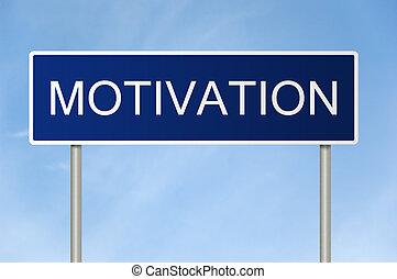 text, motivation, straße zeichen