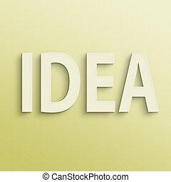 text of idea