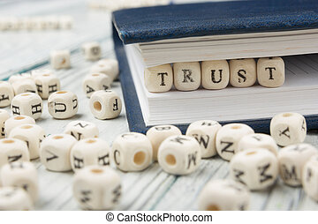 text of TRUST on cubes