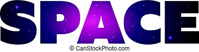 Text print for T Shirt. Space. Vector illustration.