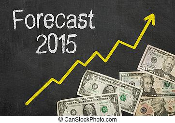 text, -, prognose, tafel, geld, 2015
