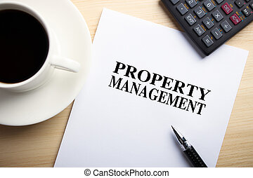 Property Management - Text Property Management is on the...