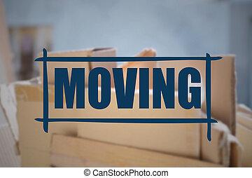 "text, rutor, papp, fokusera, ""moving"""