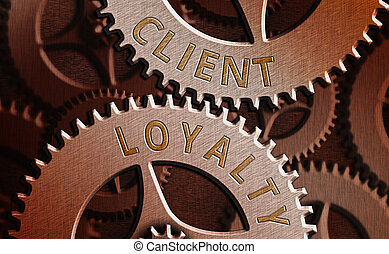 Text sign showing Client Loyalty. Conceptual photo The ...
