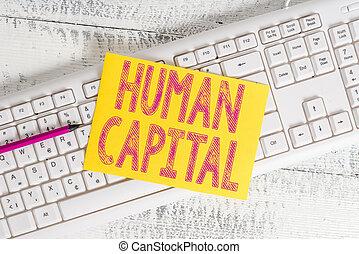 Text sign showing Huanalysis Capital. Conceptual photo ...