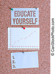 Text sign showing prepare oneself or someone in a particular area or subject. Conceptual photo inviting someone to join in your local group or company Corkboard color size paper pin thumbtack tack sheet billboard notice board.