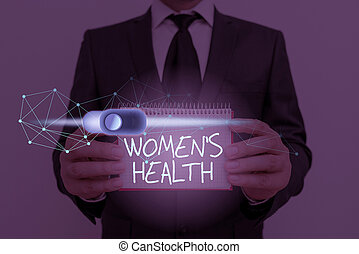 Text sign showing Women S Is Health. Conceptual photo the ...