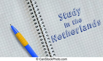 Study in the Netherlands - Text Study in the Netherlands...