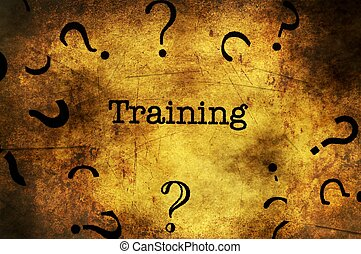 text, training, grunge, hintergrund