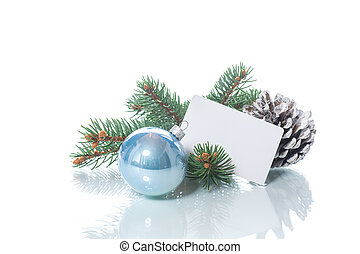 text, vánoce okrasa, čistý