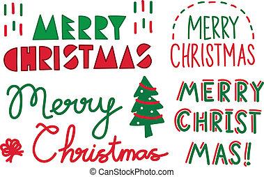 text, weihnachten
