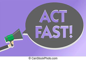 text, zeichen, ausstellung, akt, fast., begrifflich, foto, freiwillig, einziehen, der, höchsten, staat, von, geschwindigkeit, initiatively, megaphon, lautsprecher, laut, schreien, schrei, idee, talk, sprechende , vortrag halten , bubble.