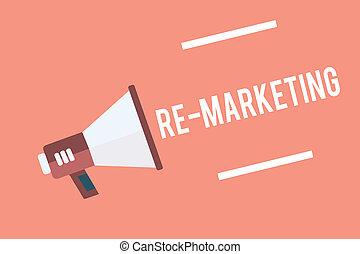 text, zeichen, ausstellung, re, marketing., begrifflich,...