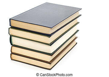 textbook - series object on white - book