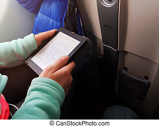 texte, écran, smartphone, homme, photo