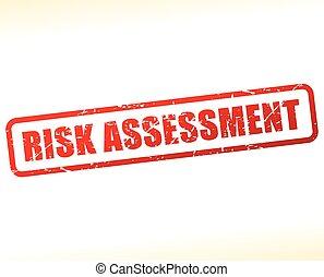 texte, évaluation, risque, buffered