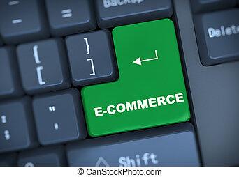 texte, 3d, ecommerce, clavier
