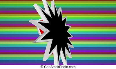 texte, art, pop, comique, coloré, fond, héros, contre