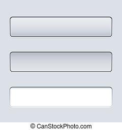texte, bouton, rectangulaire, field., gabarit, interface