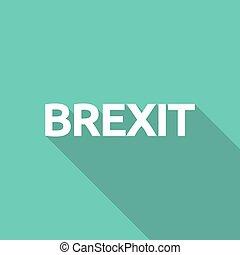 texte, brexit, illustration