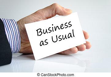 texte, concept, business, habituel