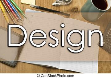 texte, conception, concept, -, business