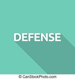 texte, défense, illustration