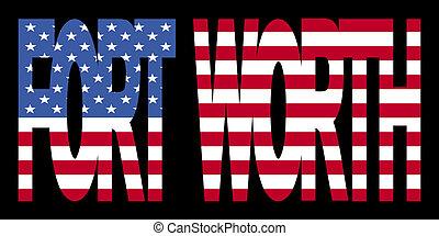 texte, drapeau, valeur, fort