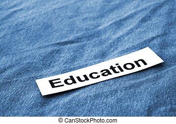 texte, education