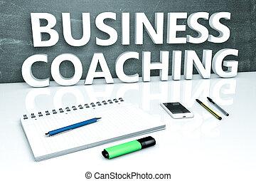 texte, entraînement, concept, business
