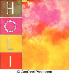 texte, fond, coloré, holi, heureux