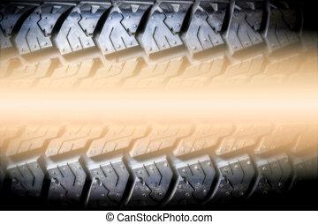 texte, fond, texture, pneu, espace