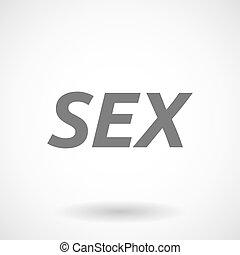 texte, illustration, sexe