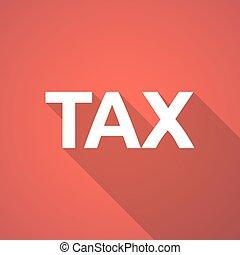 texte, impôt, illustration