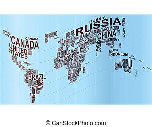 texte, mondiale
