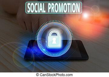 texte, projection, promotion., être, signe, social, avancer, suivant, photo, étudiants, leur, classe, conceptuel, peers.