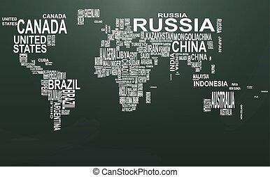 texte, tableau, mondiale