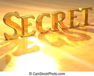 texte, top secret, or, 3d