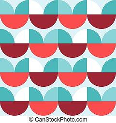 textil, motívum, 70, tervezés, retro, minimalista, mód, ...