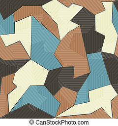 textil, motívum, retro, seamless