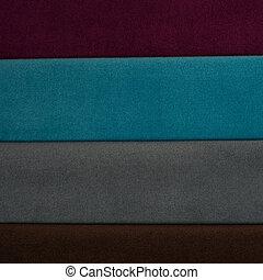 textile, matériel, texture