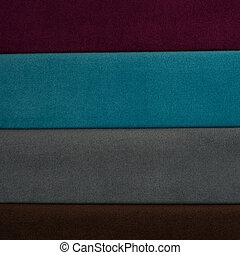 Textile fabric material texture with pattern for background