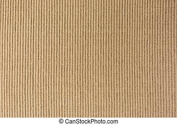 textile place mat - close-up of brown textile place mat