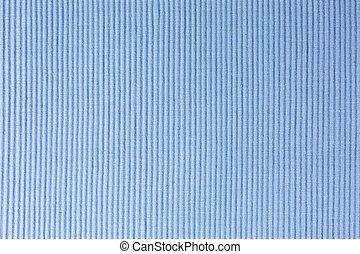 textile place mat - close-up of bluetextile place mat
