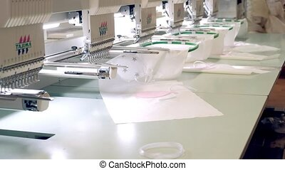 Textile - Professional and industrial embroidery machine....