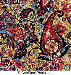 """seamless pattern """"Paisley"""""""