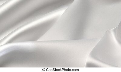 Textile - Close up of a white background.