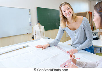 Textiles class
