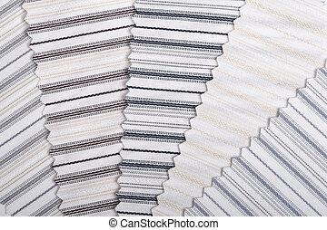 textiles, rayé