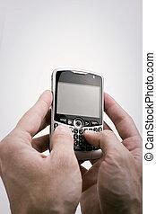 texting, pda